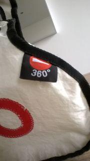 360° Handtasche aus Segeltuch