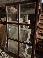Terrassentür Glastür Fenster unterschiedlicher Größe