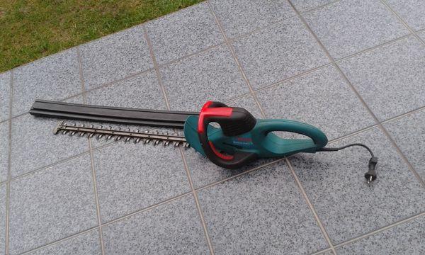 Bosch heckenschere in erzhausen gartengeräte rasenmäher kaufen