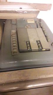 Antike Registrierkassen Nicht geputzt