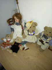 puppen und teddys
