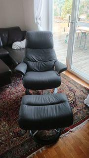 Super bequemer echter Stressless-Sessel aus