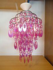 Pinke Deckenlampe Hängelampe