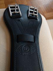 Sattelgurt Leder kurzgurt 80 cm