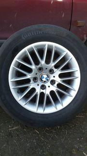 Alufelgen BMW e39 mit Sommerreifen