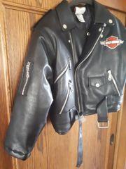 Motorrad Lederjacke Harley