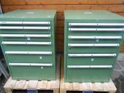 Schubladenschrank 720x720x1000 mm - 6 Laden