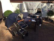 Joolz Kinderwagen Sonnenschirm Blau