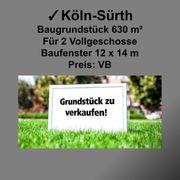 Baugrundstück 630 m² in Köln-Sürth