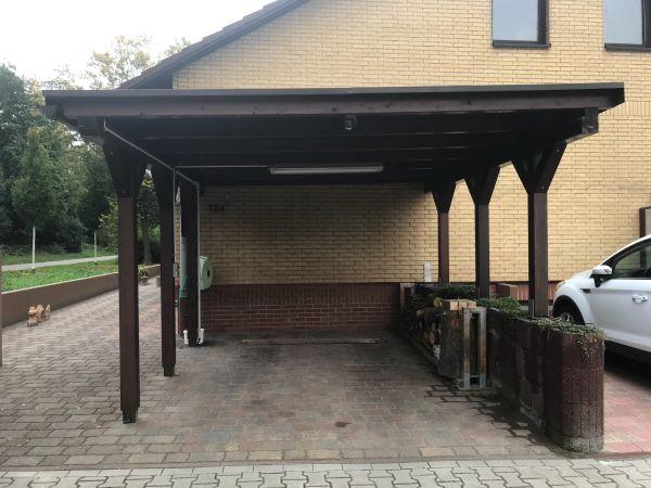 carport terrassen berdachung gebraucht kaufen nur 4 st. Black Bedroom Furniture Sets. Home Design Ideas