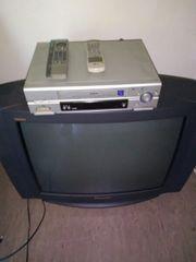 Panasonic Farb TV LG Videorecorder