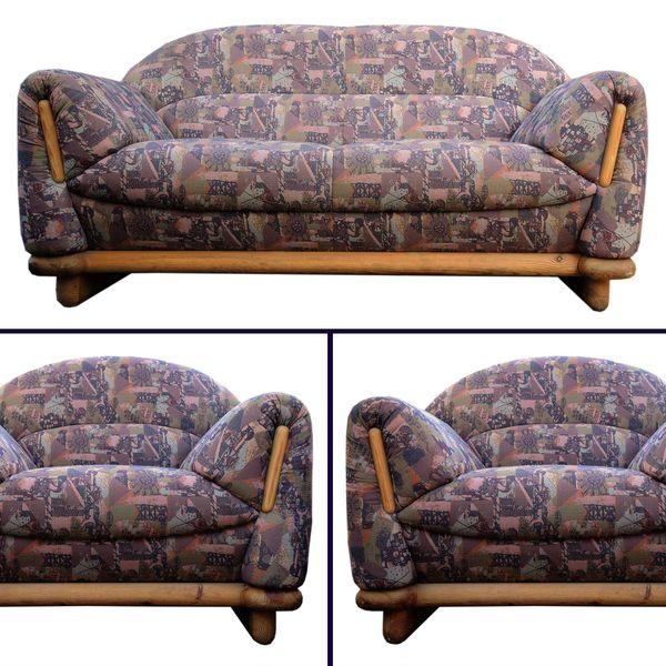Polstergarnitur Sitzgruppe 1 Sofa Couch 2 3 Sitzer 2 Sessel