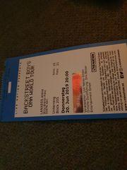 Backstreet boys Premium ticket