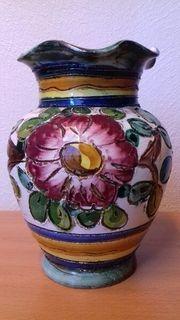 schöne alte Vase aus Italien
