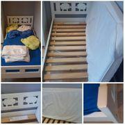Kinderbett mit Lattenrost Matratze