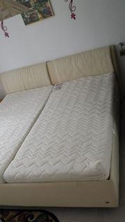 RUF-Doppelbett Beige