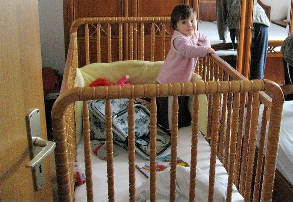 Kinderbett laufgitter roba m laufstall m luflernhilfe in
