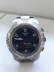 Schöne Tissot T Touch Multifunktionsuhr