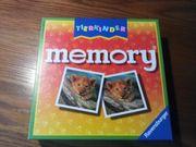Kinderspiel-Tierkinder memory