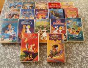 Original VHS Disney Kassetten und