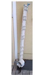Weidepfähle Steigbügeltritt-Pfähle weiß 30 Stück