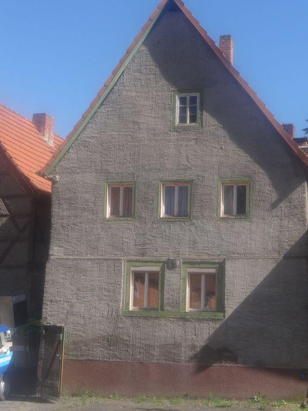 Einfamilienhaus mit Anbau in Wiehe - 1-Familien-Häuser kaufen und ...