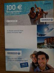 Reisegutscheine abzugeben