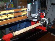 Drechselfräse Universalmaschine für die Hobby-Holzbearbeitung