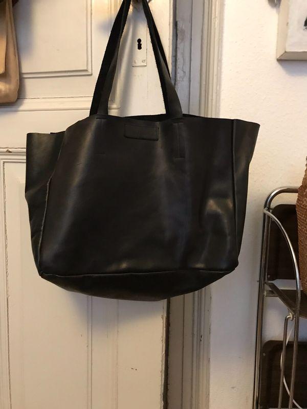 Handtasche handgenäht