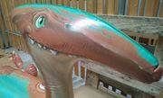 Großer aufblasbarer Dinosaurier Schwimmtier von