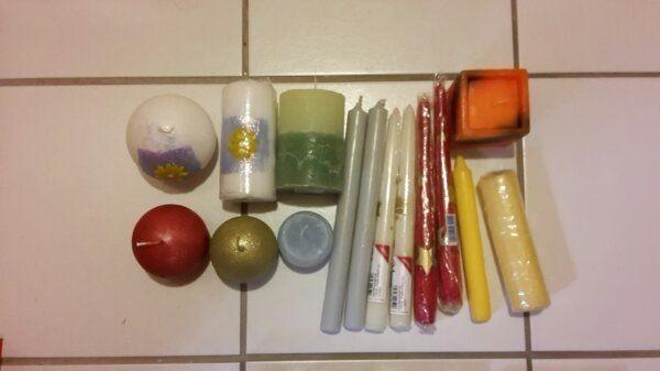 11 Kerzen neu, zus. - Süßen - neu, unbenutztzuzüglich Versandkosten - Süßen