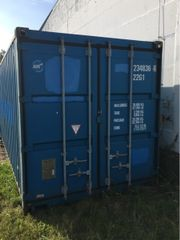 Container in Warnemünde