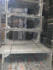 175 m² gebrauchtes Gerüst Layher