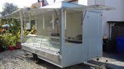 Verkaufsanhänger Imbisswagen Verkaufswagen mit ausziebarer