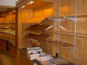 Ladeneinrichtung einer Bäckerei