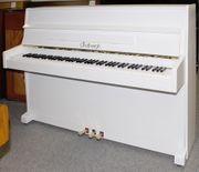 Klavier Lindbergh 106 weiß satiniert