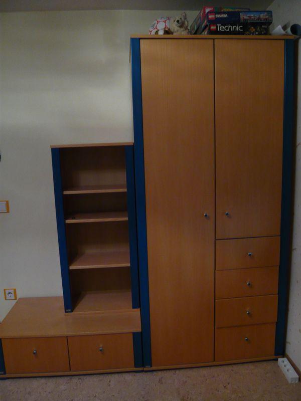 paidi kinderzimmer gebraucht kaufen nur 2 st bis 60. Black Bedroom Furniture Sets. Home Design Ideas