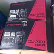 2 x Pioneer CDJ2000 NXS