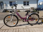 Mädchenfahrrad Fahrrad 24 zoll