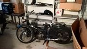 altes DDR-Moped
