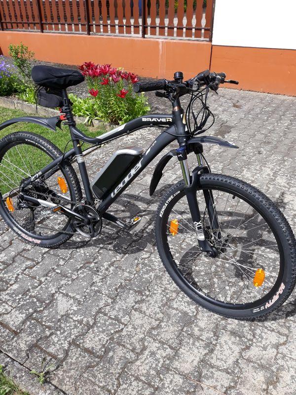E- bike pedelec leader 27, 5 zoll - Hünstetten - Verkaufe aus gesundheitlichen Gründen mein e- bike leader 27,5 Zoll Wurde gekauft am 09.10.2017 und hat laut Hersteller 2 Jahre Garantie. Das Rad ist gebraucht wird verkauft nur gegen Abholung wie gesehen und Probe gefahren ohne Garantie vo - Hünstetten