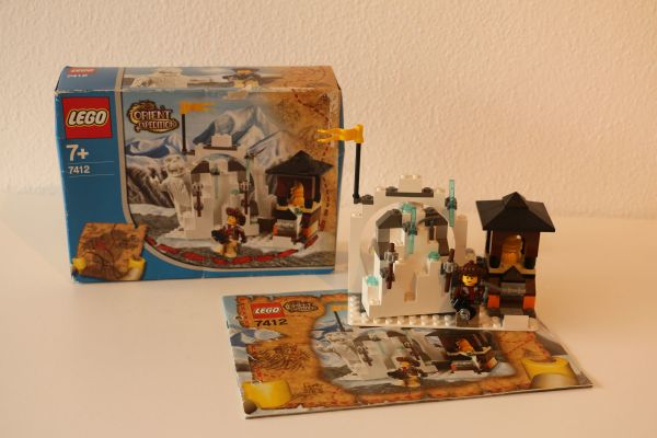 LEGO Orient Expedition 7412 - Versteck