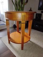 Beistelltisch aus Holz in Kirsche gebraucht kaufen  Berlin Wilmersdorf