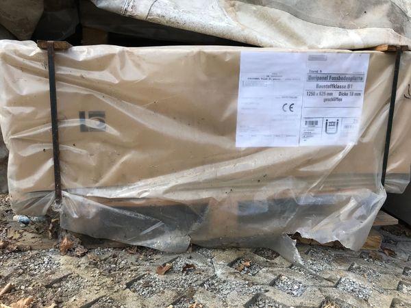 Fußbodenplatten Kaufen ~ Qm neue fußbodenplatten duripanel mm stark