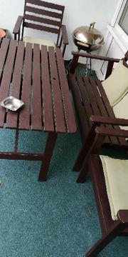 Garten Stühle und Tisch