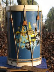 Schlagzeug Drum Antiquität Landsknechtstrommel Hessen