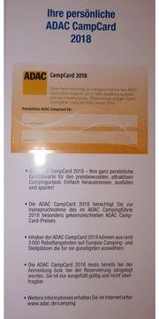 ADAC CampCard 2018