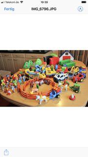 2x benutzt Neuwertige Playmobile Eisenbahn