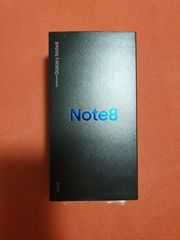 Samsung Note8 Midnight Black 64