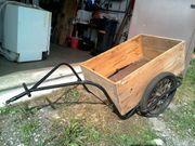 Fahrrad-Anhänger antik
